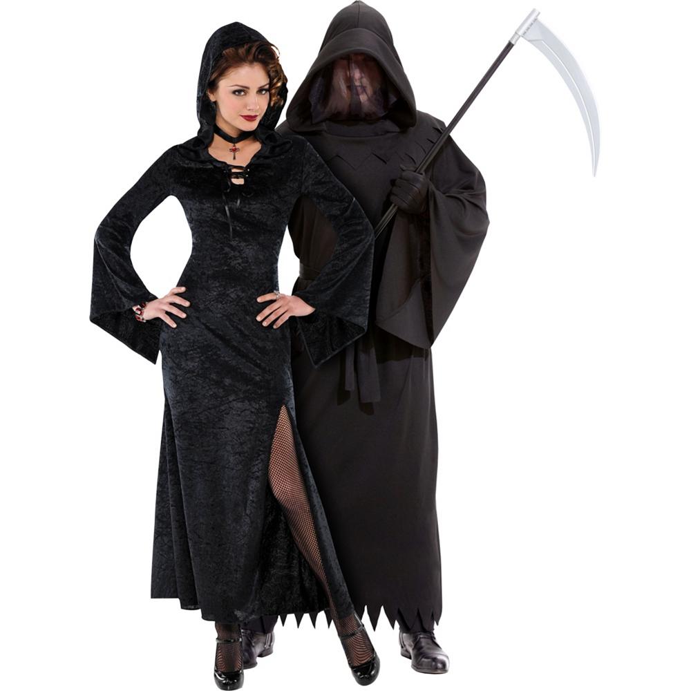 Enchantress & Phantom of Darkness Couples Costumes Image #1