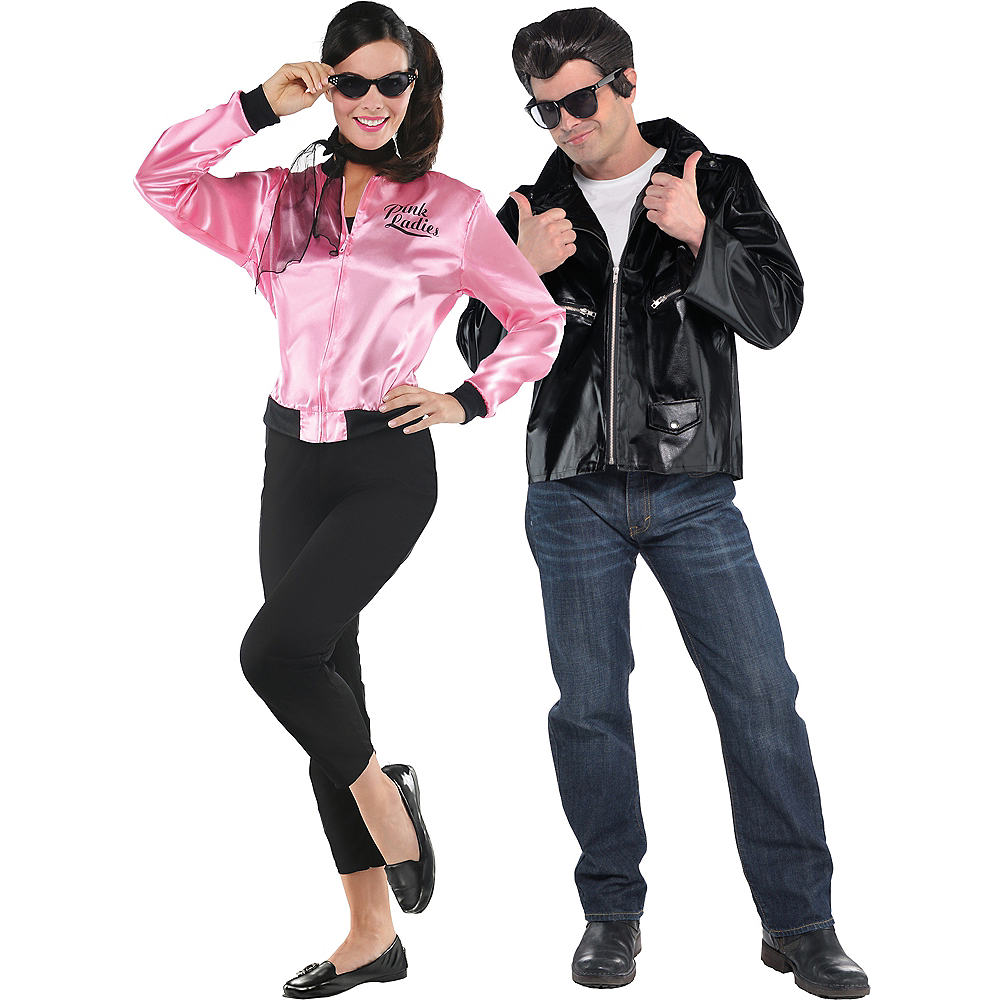 Adult Greaser Babe & Greaser Couples Costumes Image #1