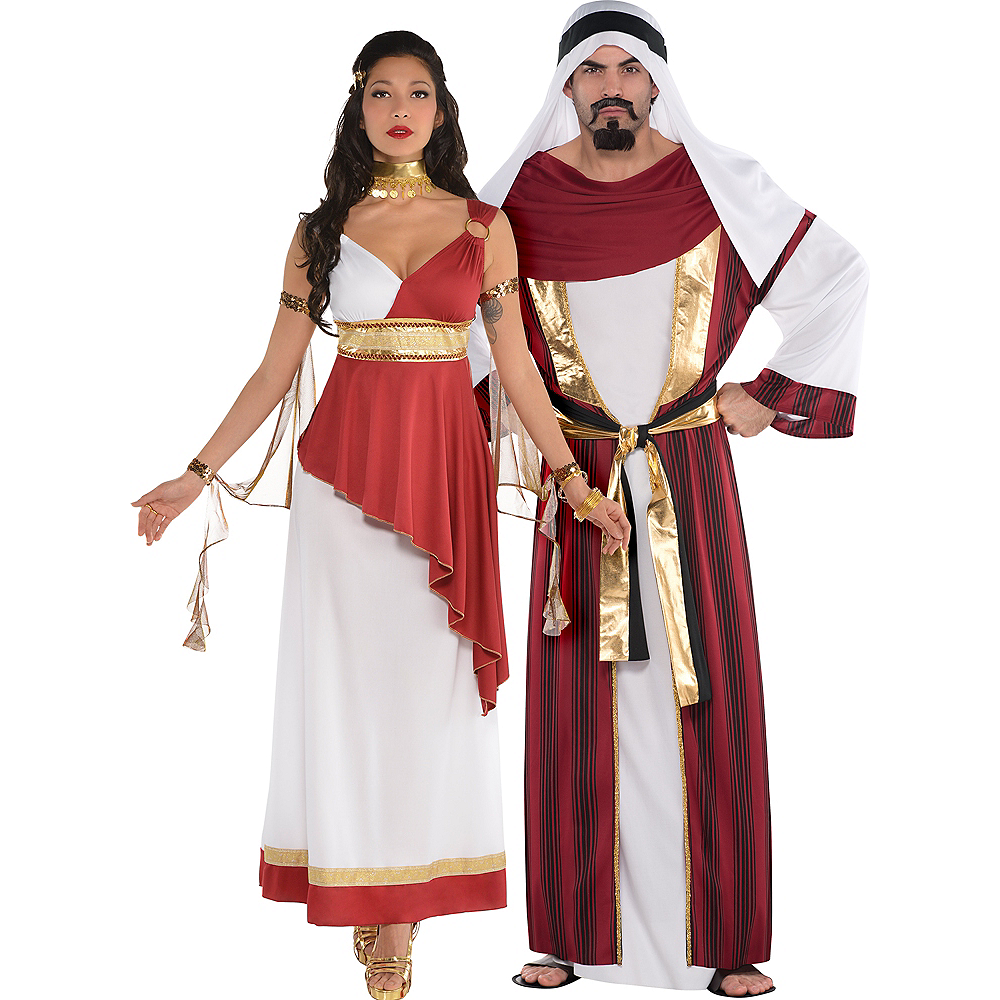 Adult Imperial Empress & Sahara Prince Couples Costumes Image #1