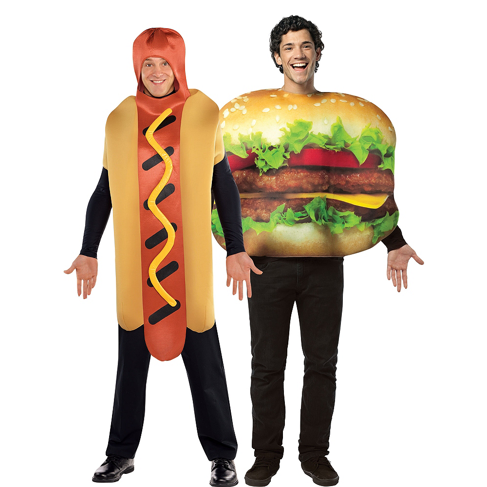 cheeseburger hot dog couples costumes image 1