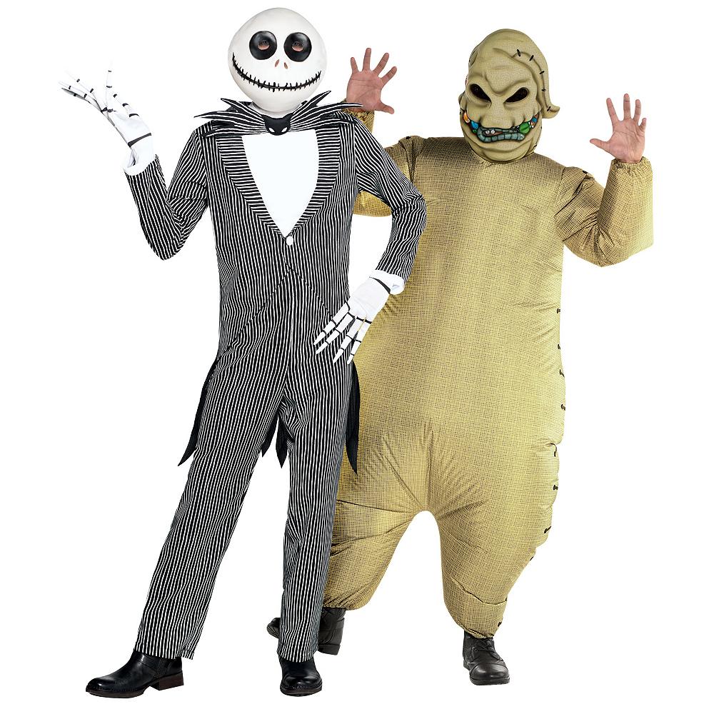 Oogie Boogie Halloween Party.Men S Jack Skellington Inflatable Oogie Boogie Couples Costumes The Nightmare Before Christmas