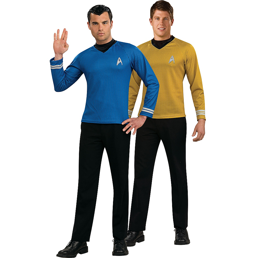 Star Trek Kirk & Spock Couple Costumes Image #1