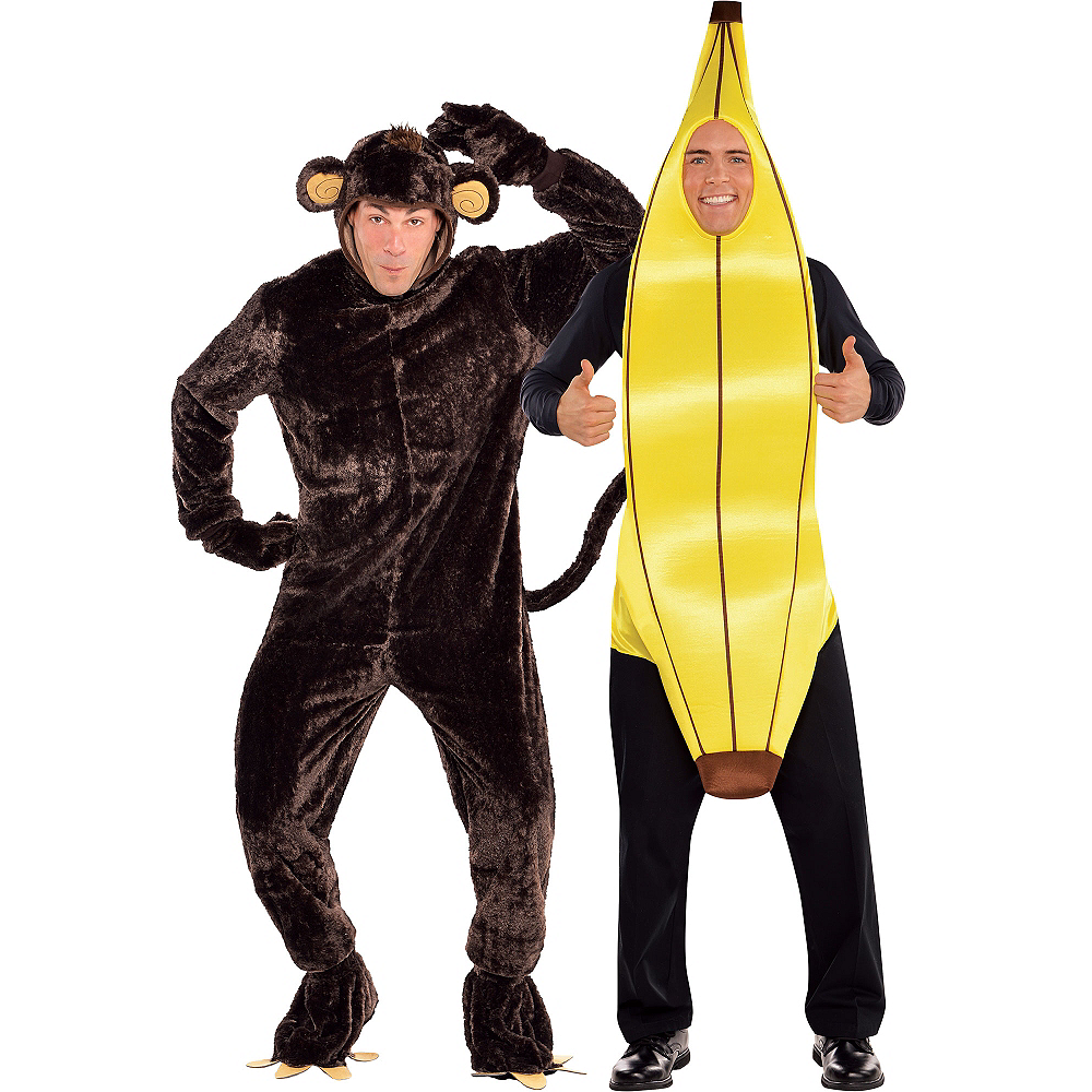 Monkey & Banana Couples Costumes Image #1