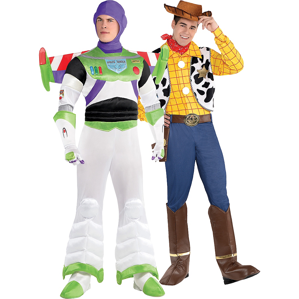 Woody Deluxe Adult Mens Costume Toy Story And Beyond