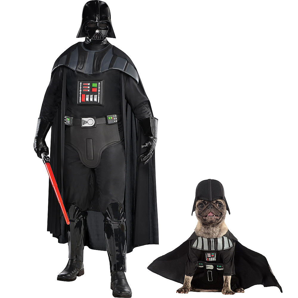Darth Vader Doggy & Me Costumes - Star Wars Image #1