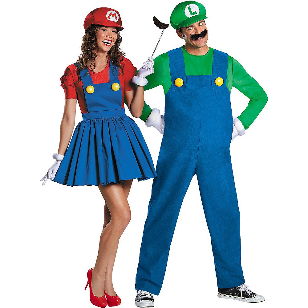 luigi miss mario couples costumes party city