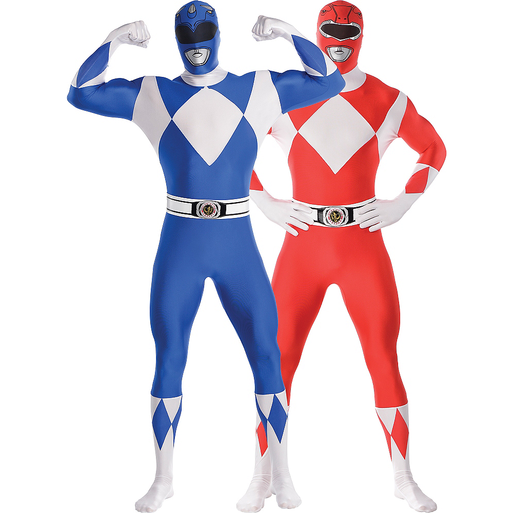 Adult Power Rangers Couples Costumes Image #1