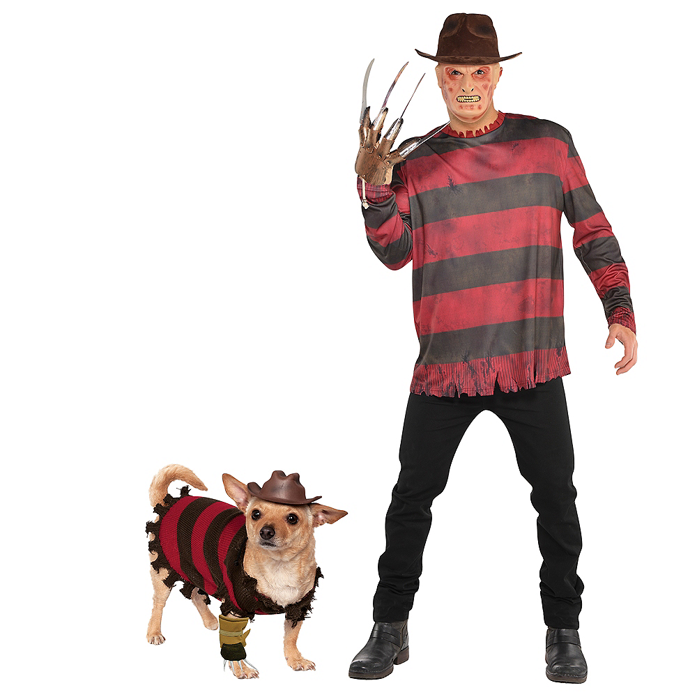 Adult Freddy Kreuger Doggy & Me Costumes - A Nightmare on Elm Street Image #1