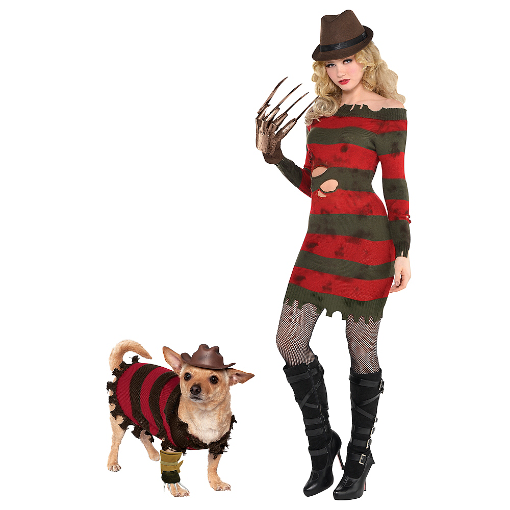 Adult Miss Kreuger & Freddy Krueger Doggy & Me Costumes - A Nightmare on Elm Street Image #1