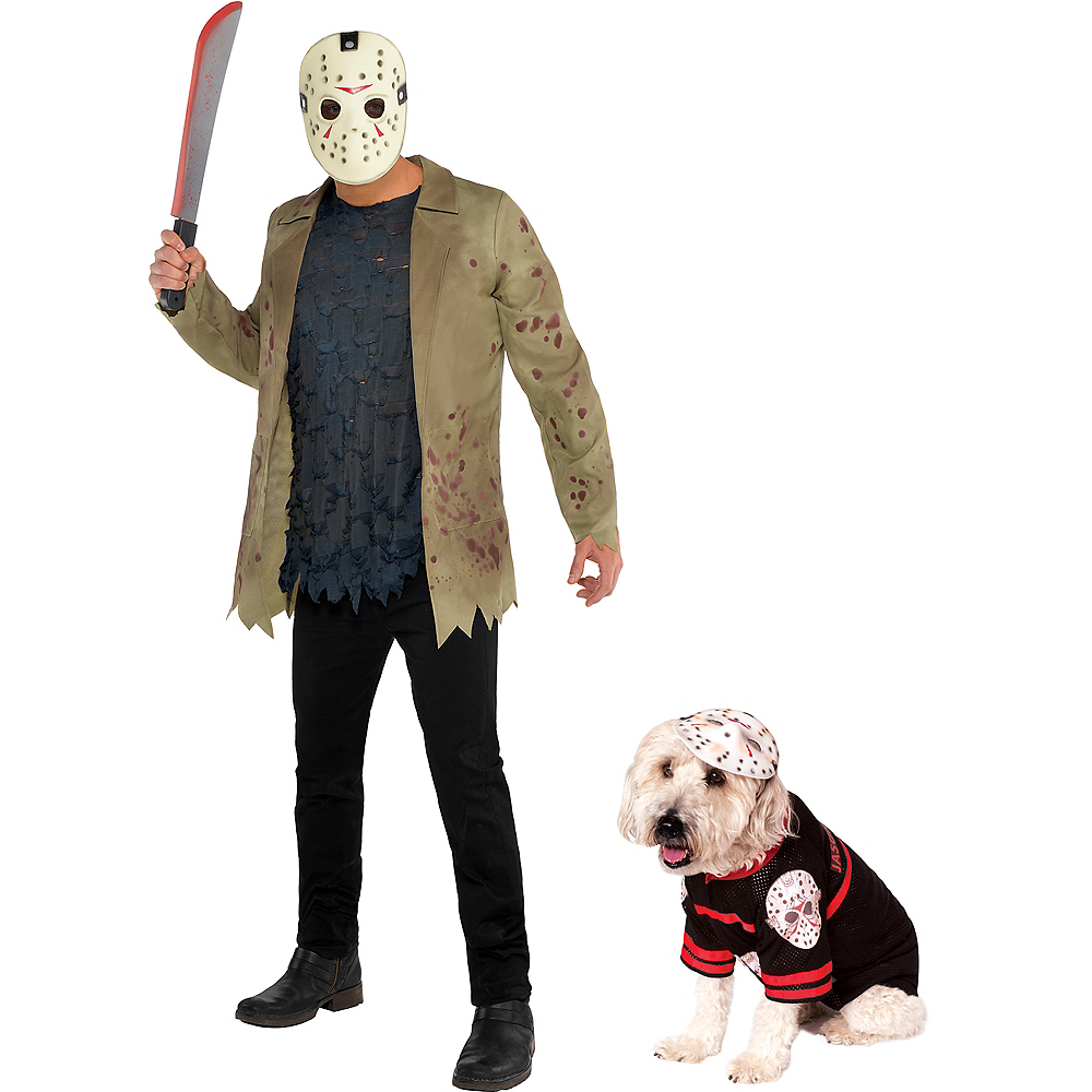 Jason Voorhees Doggy & Me Costumes - Friday the 13th Image #1