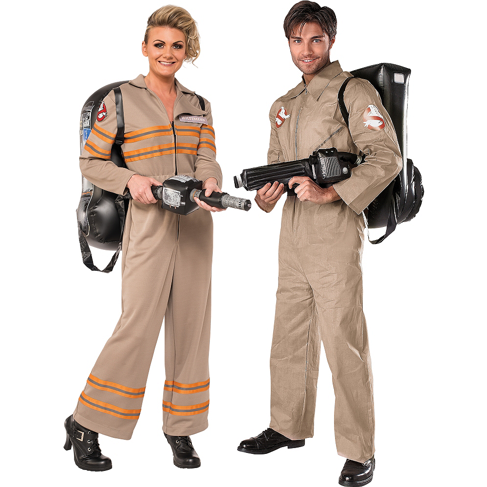 Adult Ghostbuster Couples Costumes Image #1