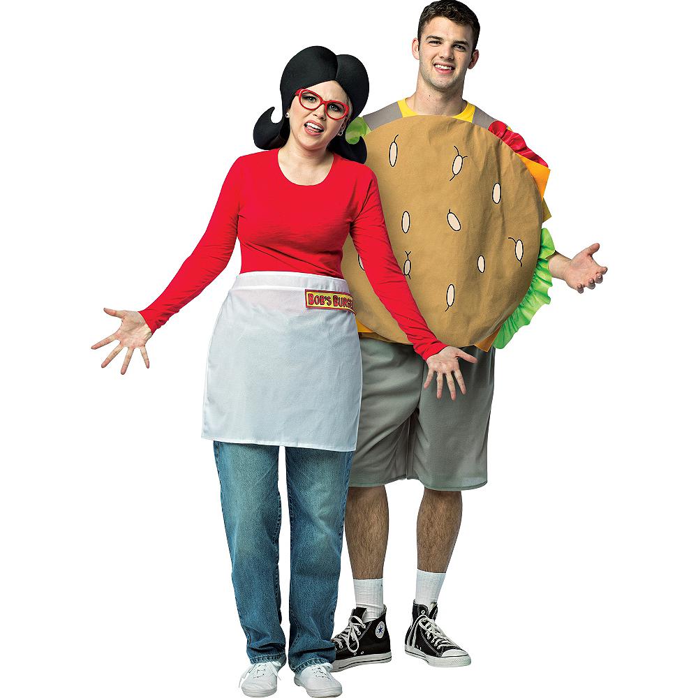 Adult Linda Belcher & Gene Belcher Couples Costumes - Bob's Burgers Image #1