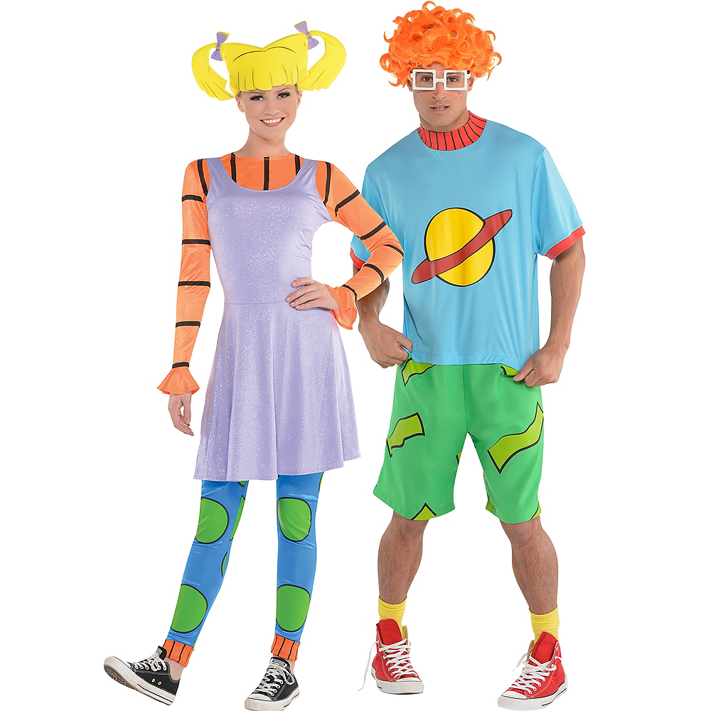 adult angelica chuckie couples costumes rugrats image 1