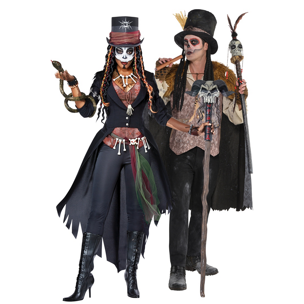 Adult Witch Doctors Couples Costumes Image #1