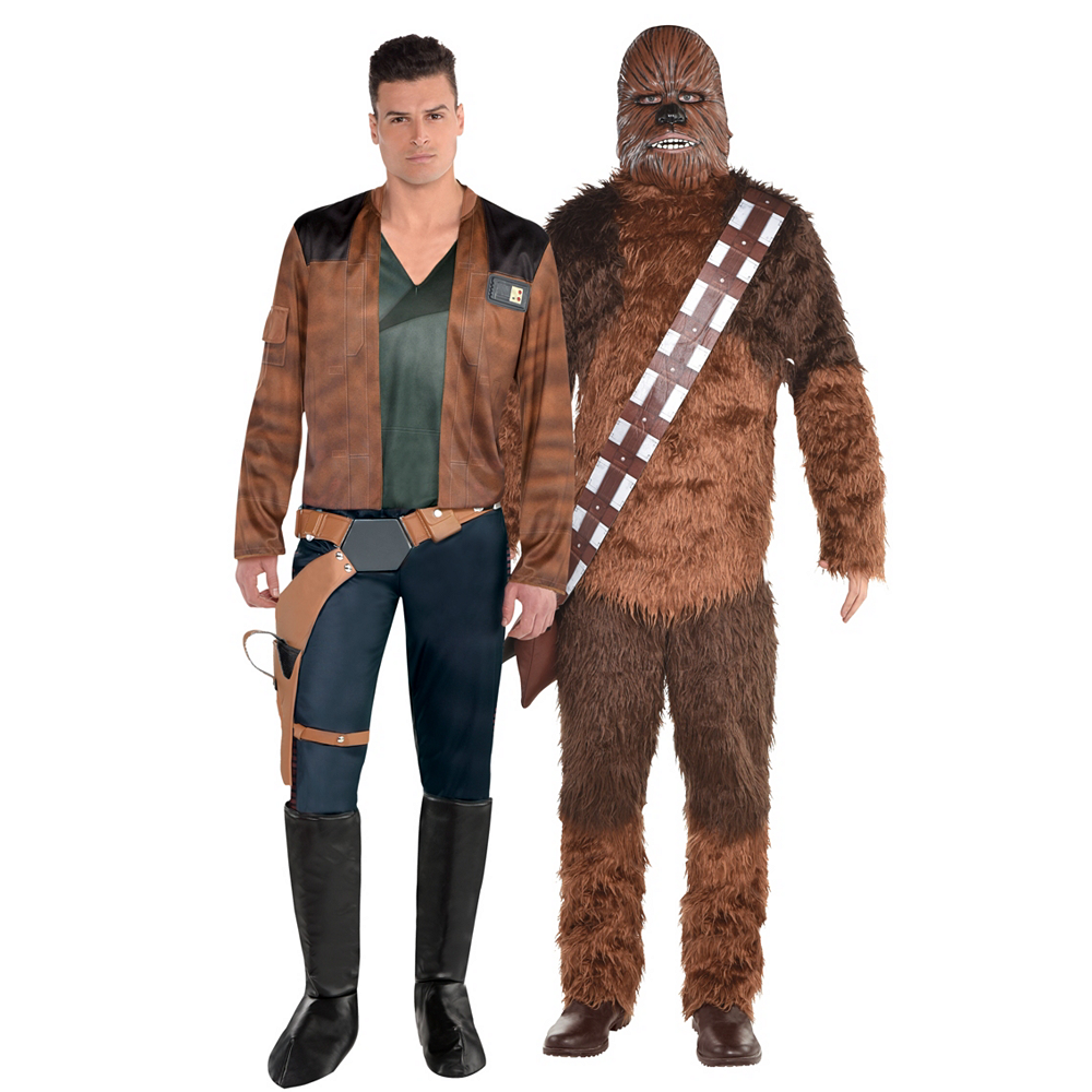 Men's Han Solo & Chewbacca Couples Costumes - Solo: A Star Wars Story Image #1