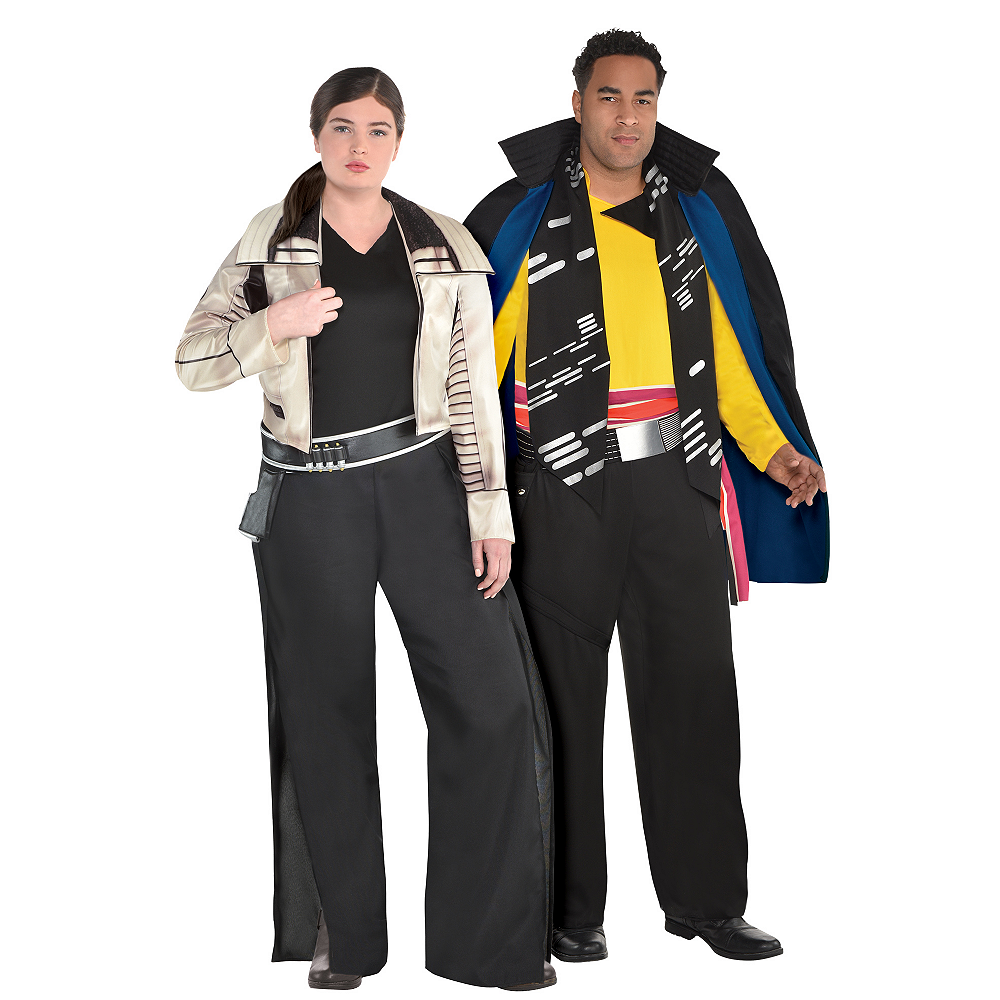 Adult Qi'ra & Lando Couples Costumes Plus Size - Solo: A Star Wars Story Image #1