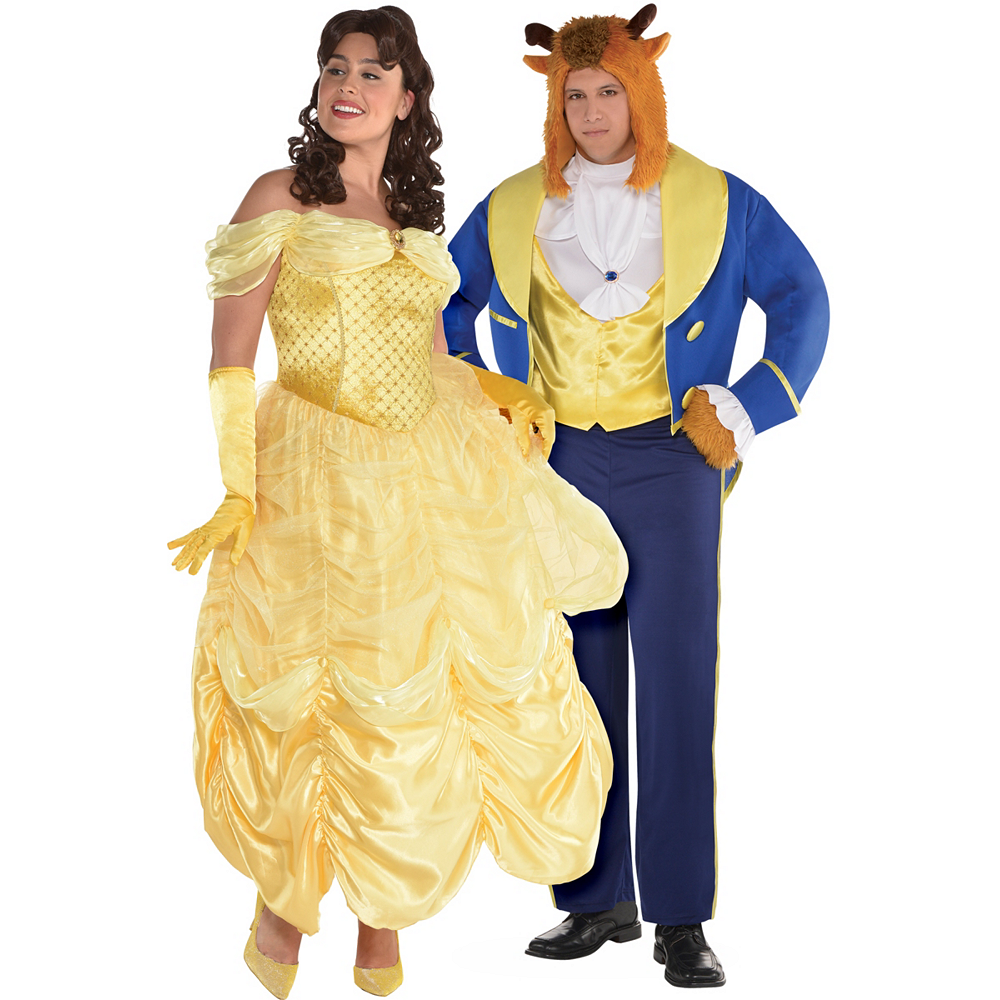 4a79e4683c Adult Beauty   The Beast Couples Costumes Plus Size - Beauty and the Beast  Image