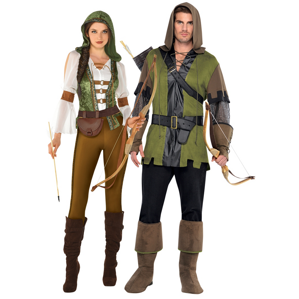 Adult Robin Hood Couples Costumes Image #1
