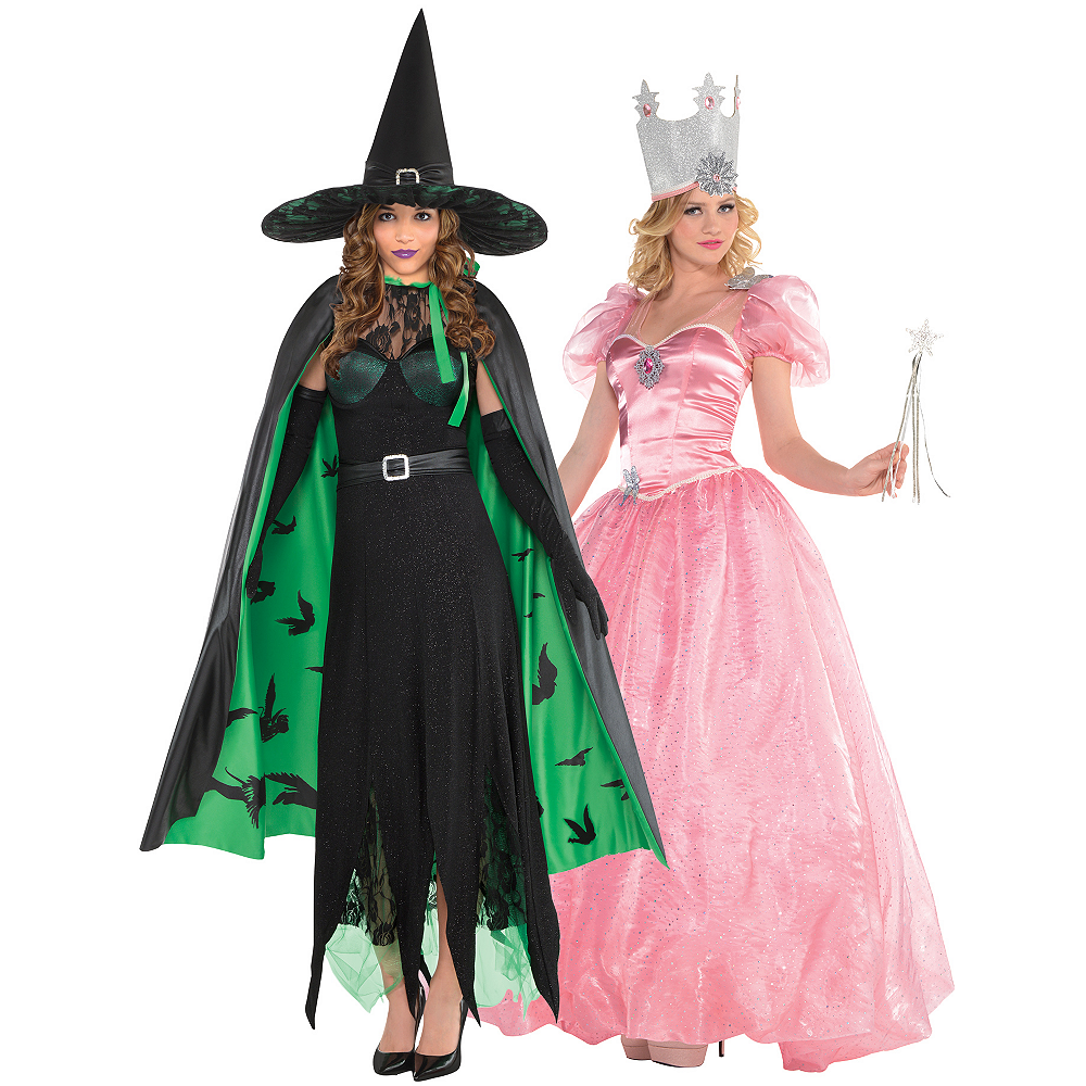 6c2c822a94d Women's Glinda & The Wicked Witch Couples Costumes - Wizard of Oz