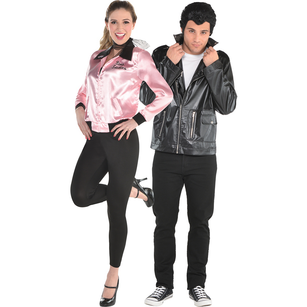 Adult Greased Lightening & T-Bird Couples Costumes - Grease Image #1