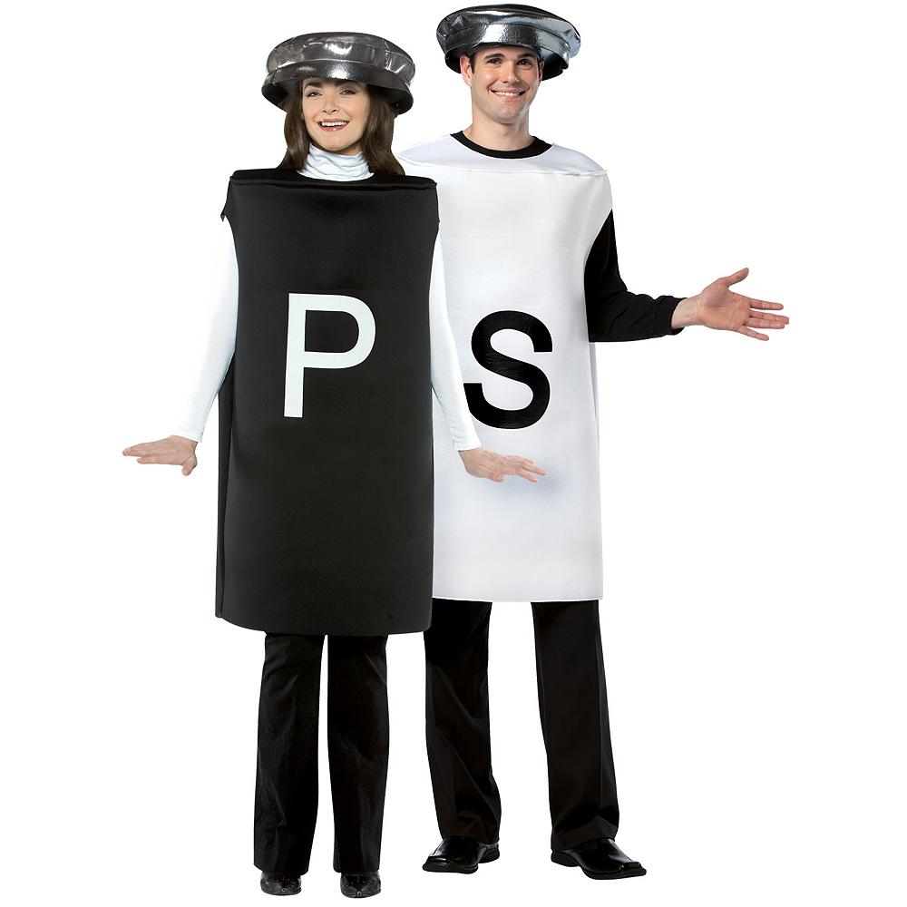 Adult Salt & Pepper Couples Costumes Image #1