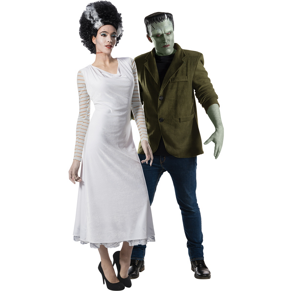 Adult Bride of Frankenstein & Frankenstein Couples Costumes Image #1