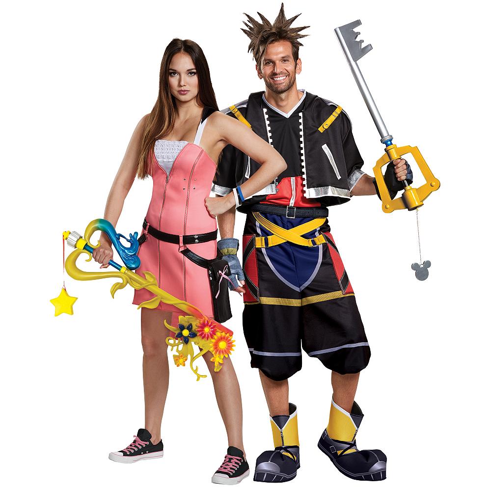 Adult Kairi & Sora Couples Costumes - Kingdom Hearts