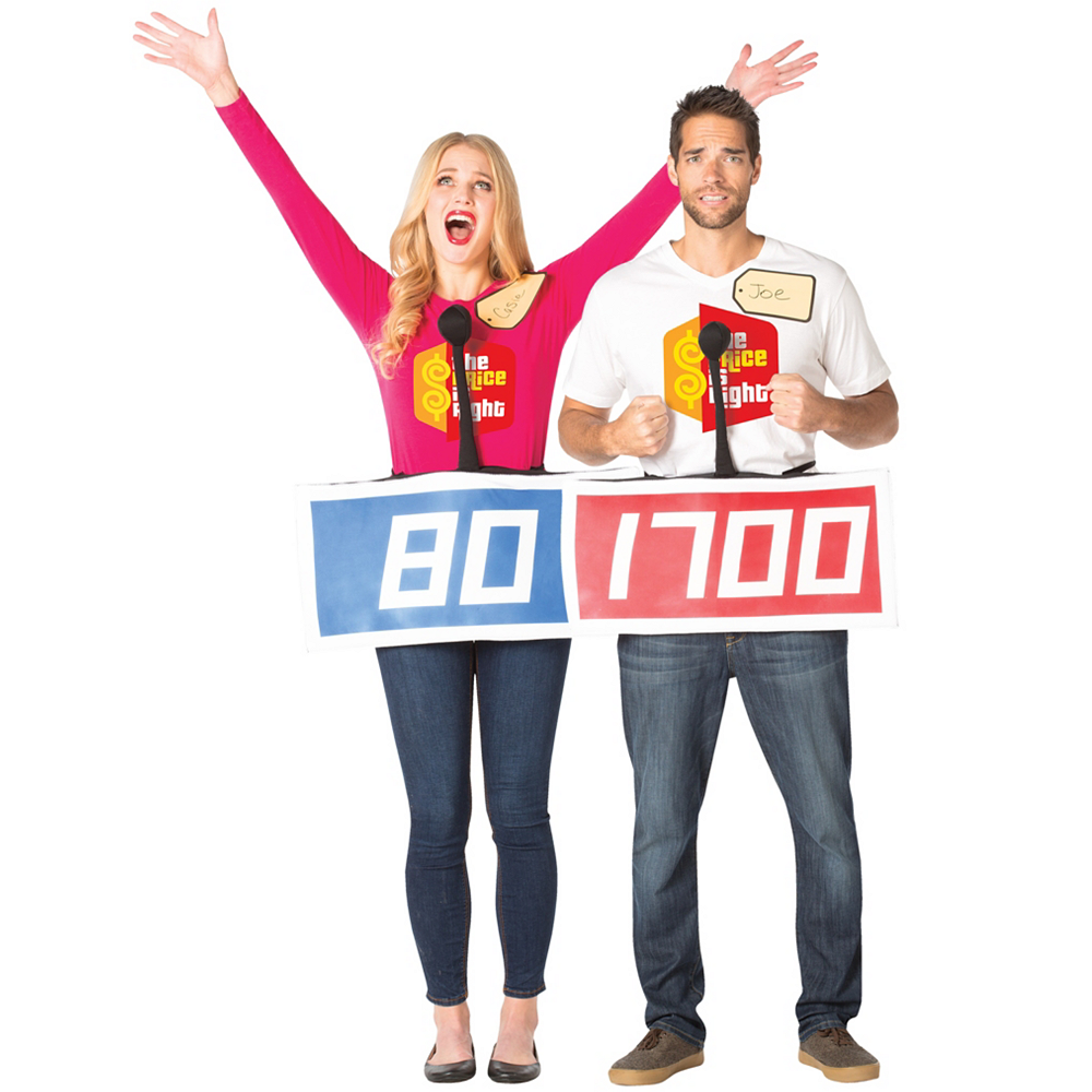 Adult The Price Is Right Contestant Couples Costumes Image #1
