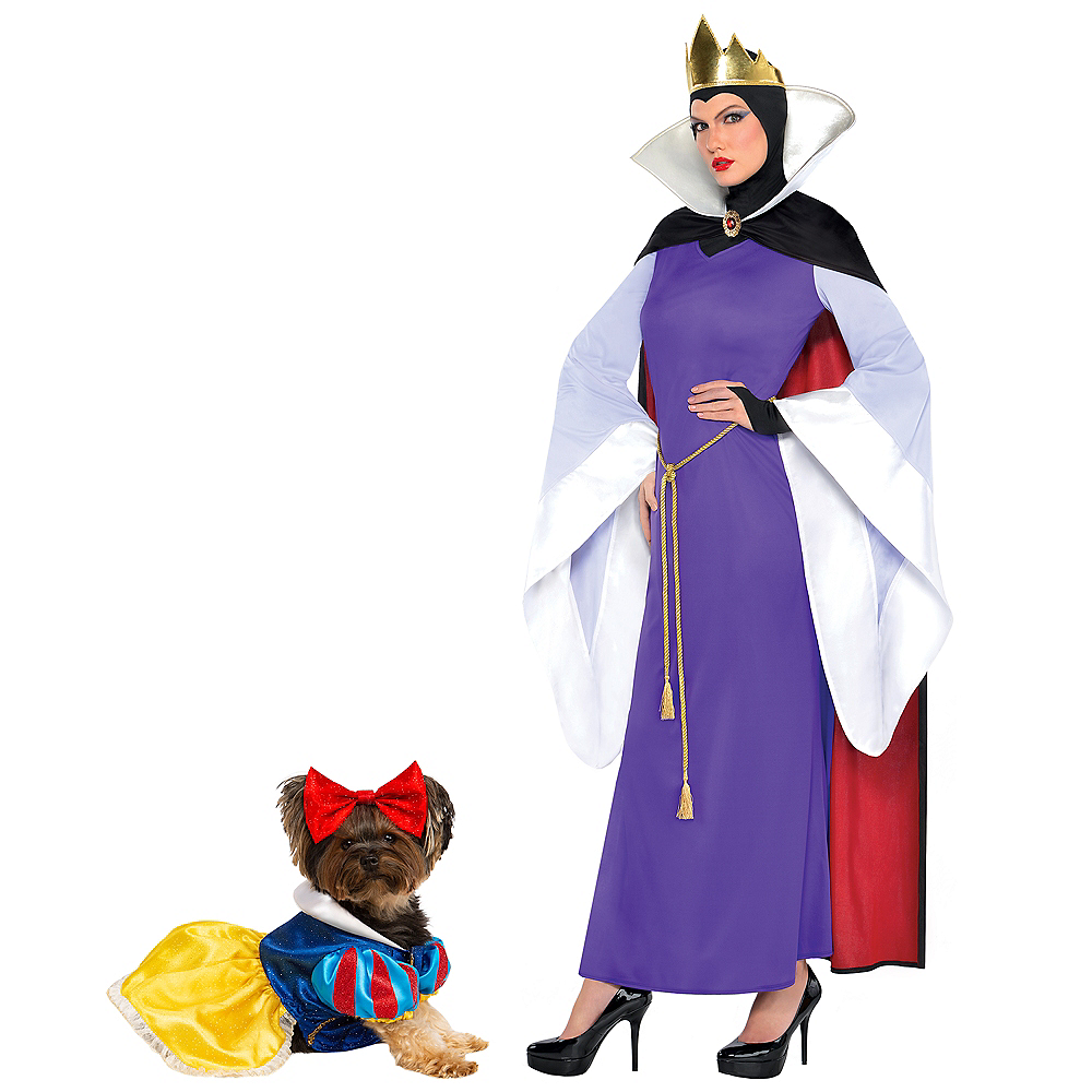 Adult Evil Queen & Snow White Doggy & Me Costumes - Disney Image #1