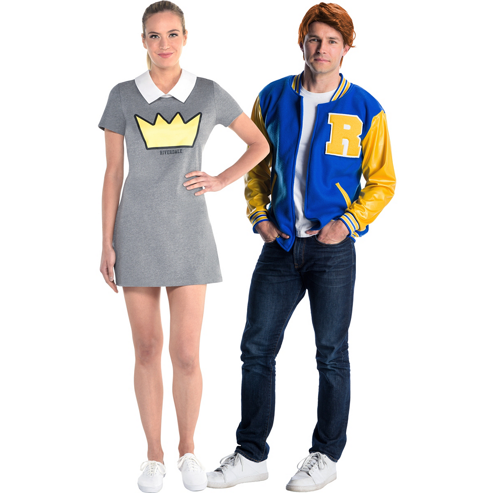 Adult Betty & Archie Couples Costumes Image #1