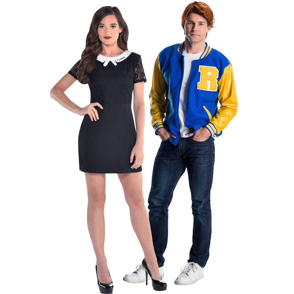 Adult Veronica & Archie Couples Costumes Image #1