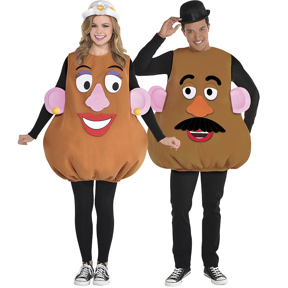 Adult Mr. Potato Head & Mrs. Potato Head Couples Costume Accessory Kits Image #1