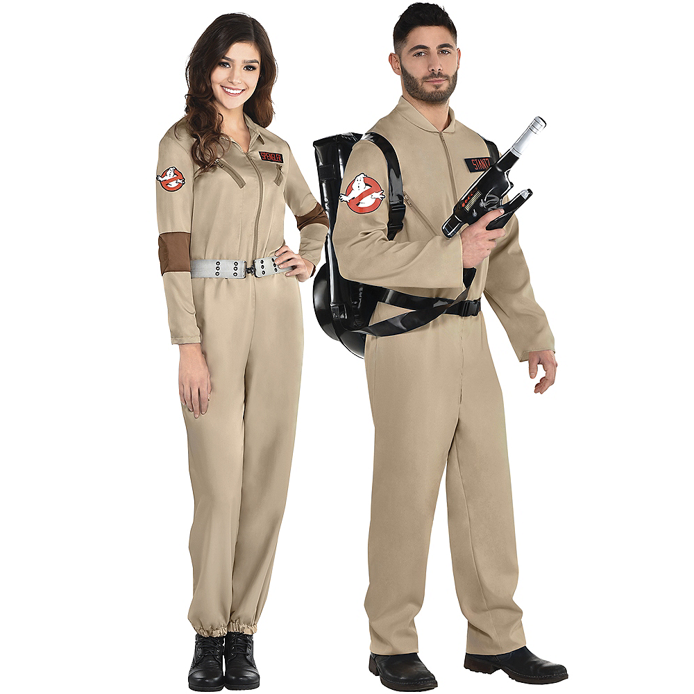 Adult Ghostbusters Couples Costumes Image #1