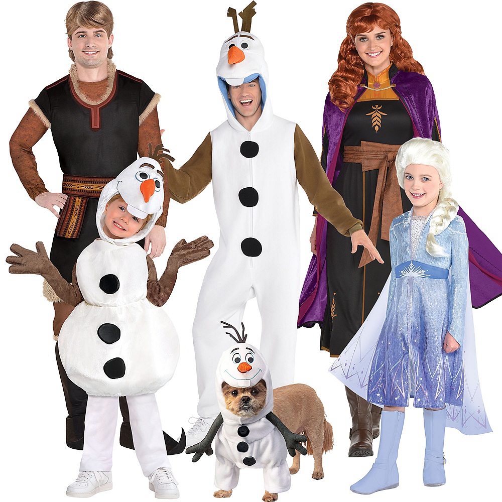 Adult Act 2 Anna & Kristoff Couples Costumes - Frozen 2 Image #1