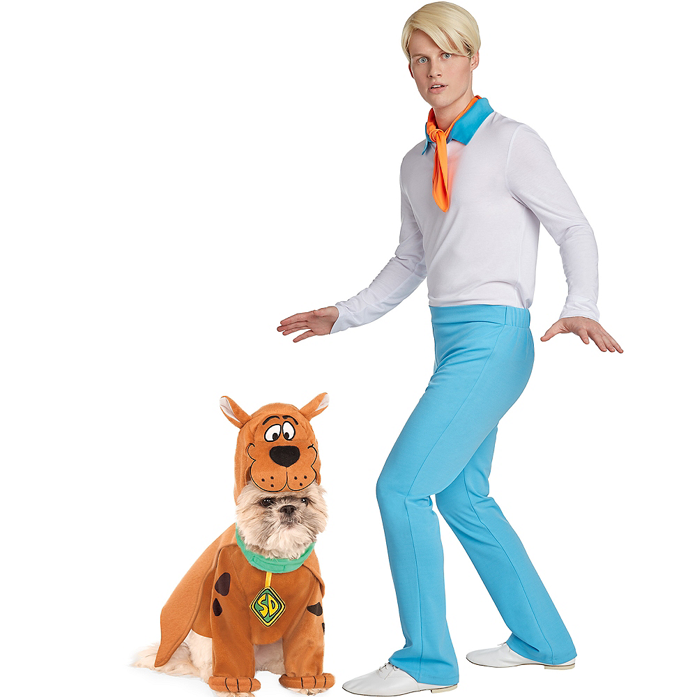 Adult Fred & Scooby Doo Doggy & Me Costumes - Scooby-Doo Image #1