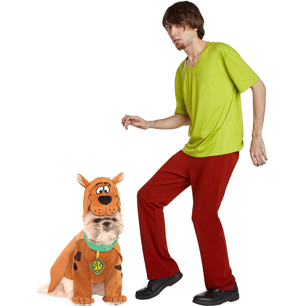 Adult Shaggy & Scooby Doo Doggy & Me Costumes - Scooby-Doo Image #1