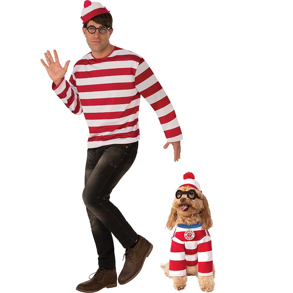 Where's Waldo Doggy & Me Costumes Image #1
