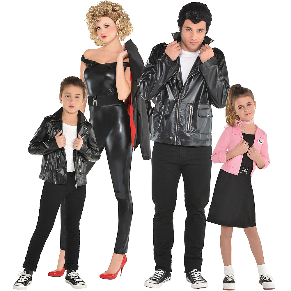 Nav Item for Adult 50s Poodle Skirt & 50s Greaser Couples Costumes Image #1
