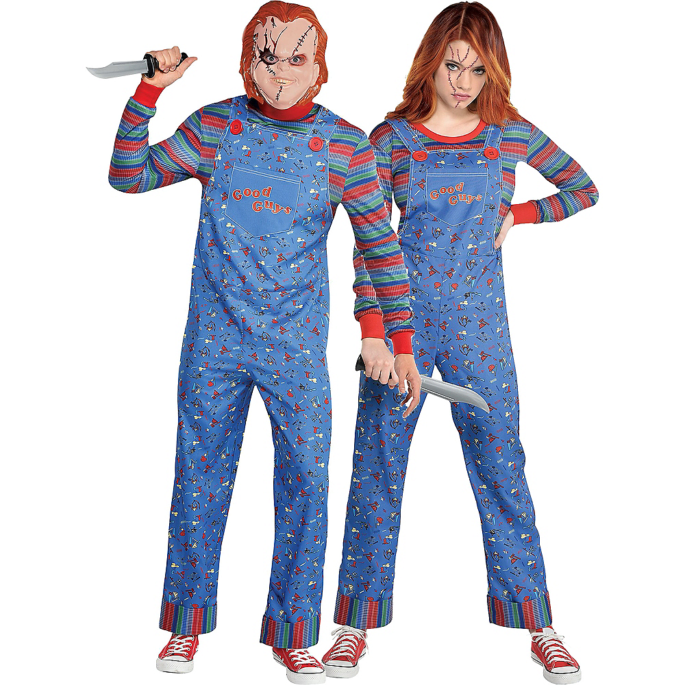 Nav Item for Chucky Couples Costumes for Adults - Child's Play Image #1