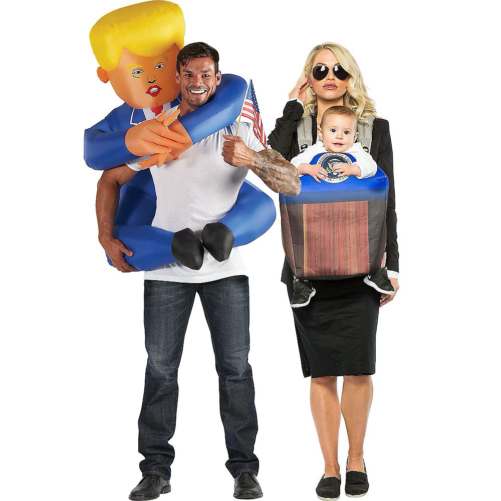 Nav Item for Inflatable Leader, Secret Service & POTUS Group Costumes for Families Image #1