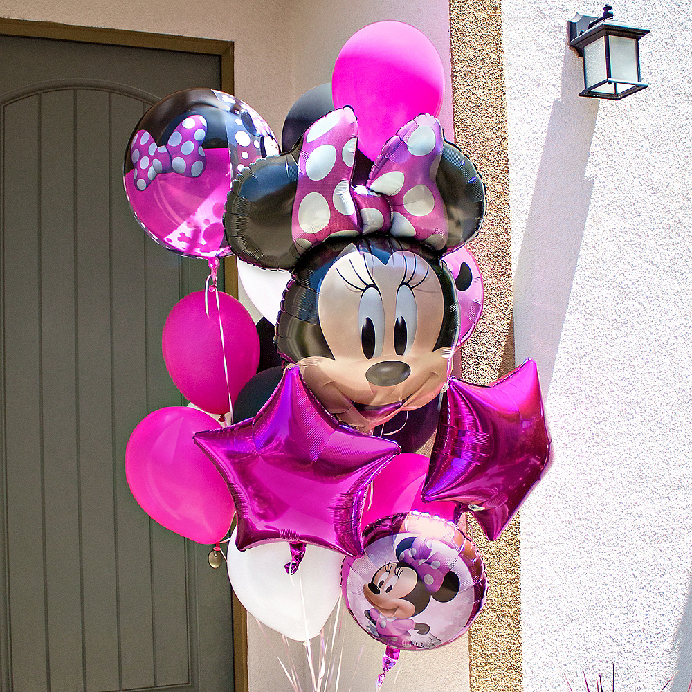 Minnie Mouse Forever Customizable Balloon Bouquet Collection Image #1