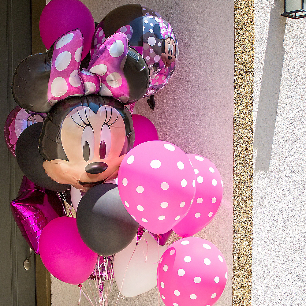 Minnie Mouse Forever Customizable Balloon Bouquet Collection Image #7