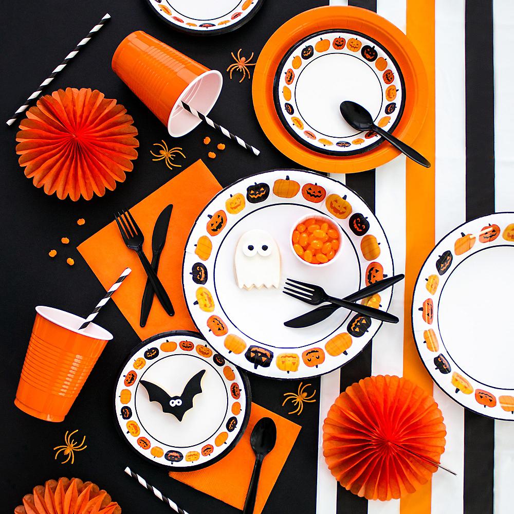 Pumpkin Party Customizable Tableware Kit Image #1