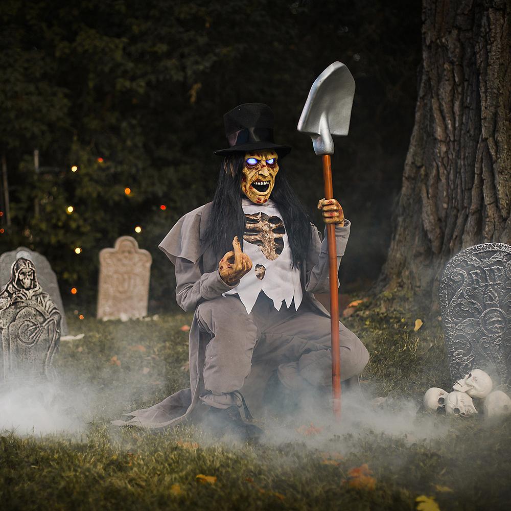 Gravedigger's Graveyard Customizable Outdoor Decorating Kit Image #1