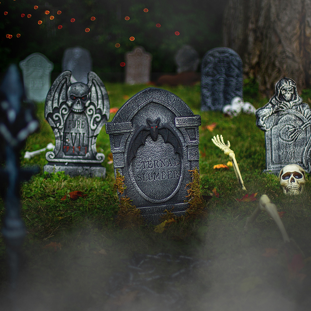 Restless Dead Graveyard Customizable Outdoor Decorating Kit Image #1