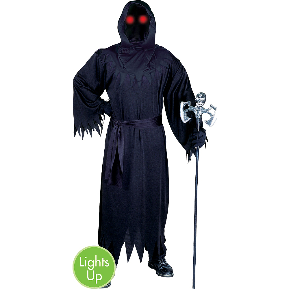 Adult Light-Up Unknown Phantom Costume Image #1