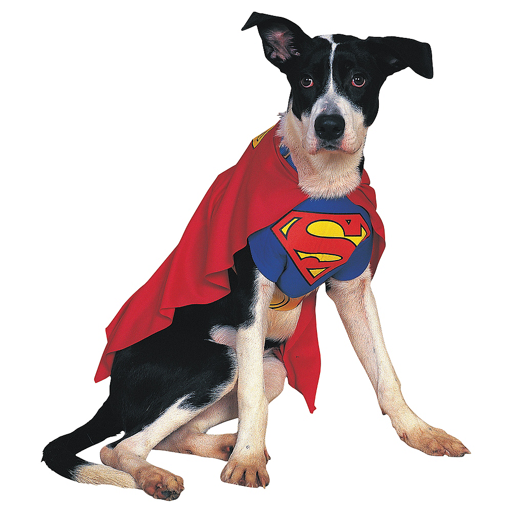Superman Dog Costume Image #1