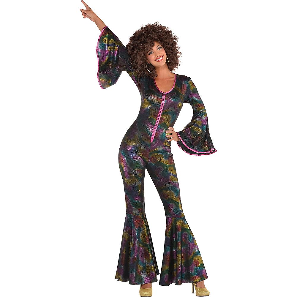 Adult Disco Pant Suit Image #1