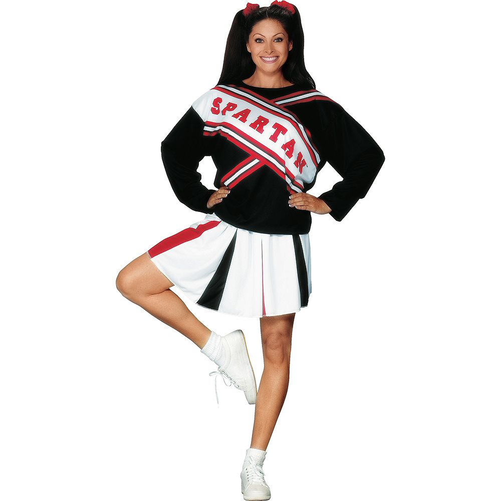 Adult Spartan Cheerleader Costume - SNL Image #1