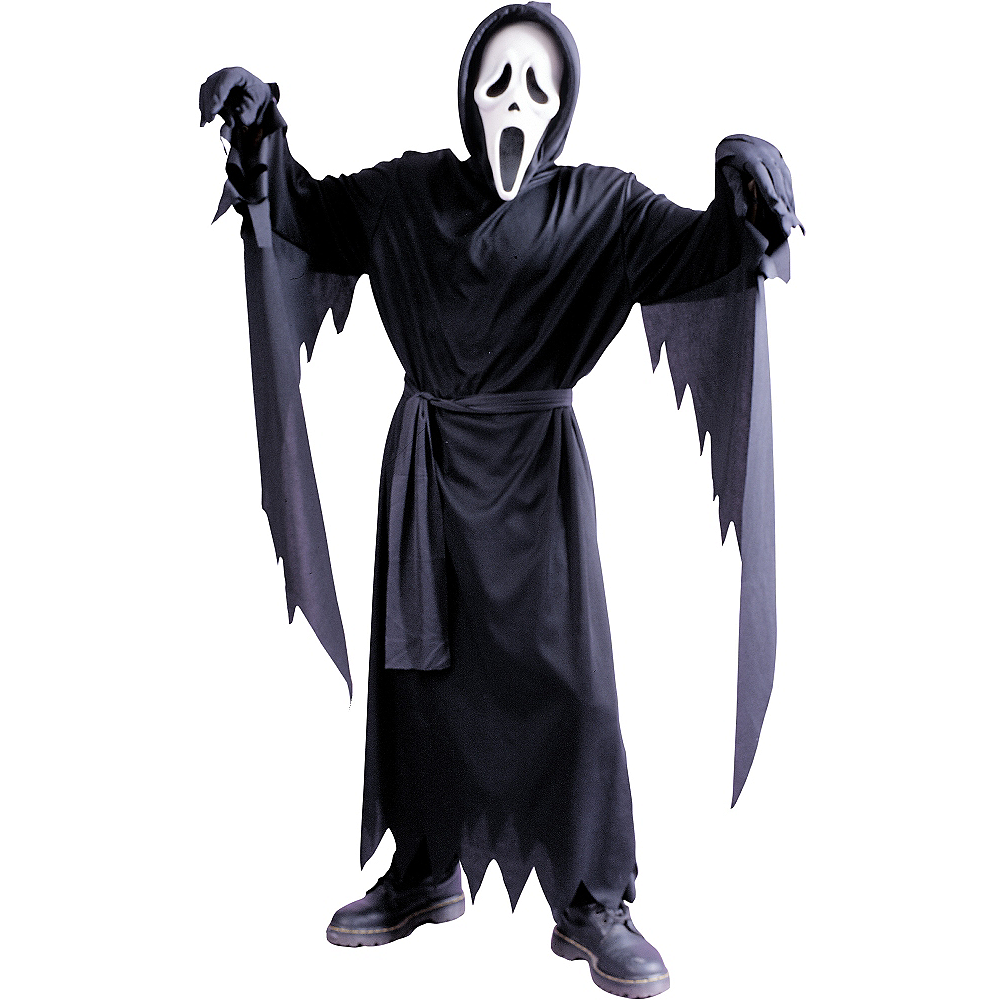Boys Ghost Face Costume - Scream Image #1